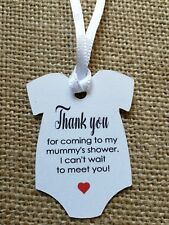 25x Baby Shower Thank You Tags