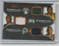 2007 sp threads kevin durant triple jersey rookie card $$$ look hot
