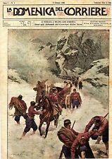 DOMENICA DEL CORRIERE COPIA COMPLETA DEL 08.01.1889