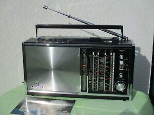 GRUNDIG SATELLIT 6000,  Weltempfänger, Transistorradio, Kofferradio, NEUWERTIG!!