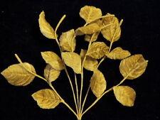 Vintage Millinery Flower Leaf Velvet Tan Brown Shades Lot Hat Wedding + Hair K50