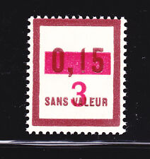 FRANCE TIMBRE FICTIF  F62  ** MNH neuf sans charnière, TB, cote: 5.00 €