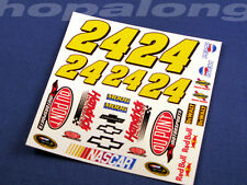 Scalextric/Slot Car 1/32 Scale 'Nascar' Waterslide Decals. ws008