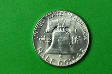 1955-P  Choice BU  Mint State (Franklin) SILVER  Half  Dollar (90% SILVER)