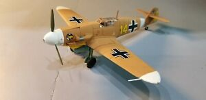 """ARMOUR (98009) LUFTWAFFE BF-109F """"MARSEILLES"""" 1:48 SCALE DIECAST METAL MODEL"""