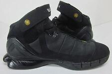 NIKE 2005 ZOOM AIR HUARACHE 2K5 BATTA 4 BLACK SYNTHETIC BASKETBALL SHOES (10.5)