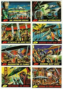 1994 Topps Mars Attacks Archives Base Card  #0 / 1-99 You Pick Finish Your Set