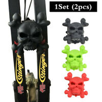 1set Skull Compound Bow Stabilizer Limbs Shock Absorber Rubber Archery Accessory