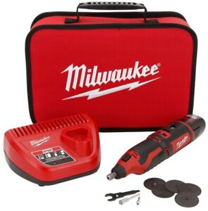 Milwaukee Rotary Tool 12-Volt Lithium-Ion Cordless Brushed Battery Charger Bag