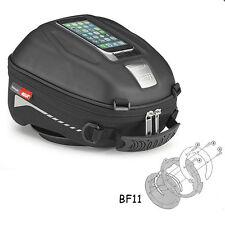 Givi ST602 Tanklock Tank Bag + Ducati Multistrada 1200 (10-15) Fitting Ring BF11