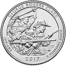 2017  GEORGE ROGERS CLARK HISTORICAL PARK (INDIANA) P&D SET ****IN STOCK****