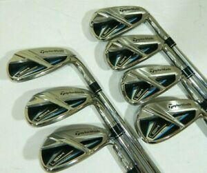 Taylormade Sim Max iron set 5-AW Steel KBS Max 85 Regular flex irons 5-PW+AW