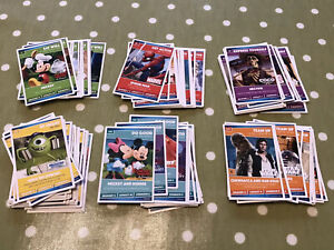 Sainsbury's Disney Marvel Heroes Trading Cards complete Full Set 144 Cards