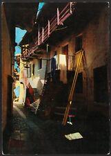 AD4385 Isola Pescatori (VB) - Le rustiche case - Cartolina postale - Postcard