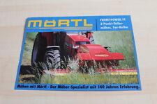 128899) Mörtl Frontmäher Front-Power FT Prospekt 09/1997