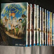 The Promised Neverland, Vol. 1-18 Full Lot Set Japanese Edition manga used