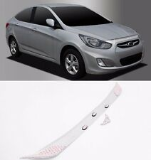 Chrome Emblem Hood Guard Protector Cover 1pcs For Hyundai Accent 2012 2016