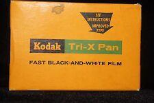 Vintage 1962 Kodak Tri-X Pan Fast B&W Film Pack TX 520 FACTORY SEALED