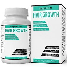 magnificent HAIR GROWTH Formula | Potent Biotin and Bamboo Extract, Longer...