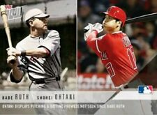 SHOHEI OHTANI SP RC JAPANESE BABE RUTH 2017 TOPPS NOW MLB ANGELS ROOKIE RED HOT!