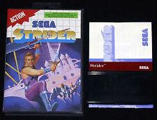 STRIDER 1 Sega Master System Versione Europea PAL ••••• COMPLETO