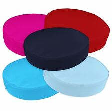 PL Canvas PU Water Proof 3D Round Thick Mattresses Cushion Cover Custom Size