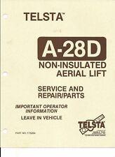 telsta in parts accessories ebay rh ebay ca Telsta T40 Manual Telsta Boom Manuals