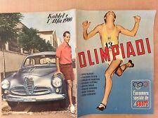 OLIMPIADI 1952 HELSINKI NUMERO UNICO SPECIALE - STAMPA BOCCASILE  E ALFA ROMEO