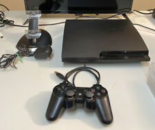 Sony PlayStation 3 PS3 CECH-3001A Slim Console/controller/charging Station/games
