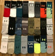 NEW Under Armour UA Phenom Training Socks 1 Pair-Size Large Men 8-12, W 9-12