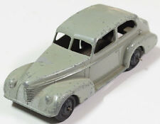 DINKY #39D BUICK VICEROY SALOON - RIDGED WHEELS. TAUPE GREY,  EXC.  REEDED EDGE!