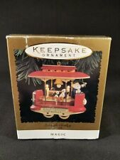 Hallmark Keepsake -Kringle Trolley- Magic Ornament