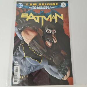 DC Universe Rebirth Batman I Am Suicide Issue 13 Feb 2017