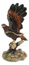 Australian Wedge Tail Eagle - Bird Trinket Box Or Figurine approx 10cm High