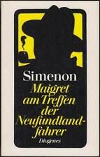 Maigret am Treffen der Neufundlandfahrer: Band 9 SC (Diogenes 1980, 20717) Z 1