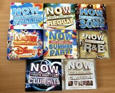 8 X NOW That's What I Call Music Special Edition Fatbox CD Double Albums
