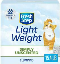 New listing Simply Unscented Lightweight Clumping Cat Litter,15.4 Pounds,Package May Vary