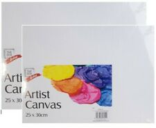 2 x Artist Canvas Panel Board Art Painting For Acrylic & Oil 25cm x 30cm