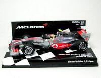 McLaren Mercedes N° 2 L. Hamilton Formel 1 Coche a escala 2010