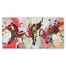 Unikat Moderne Malerei Öl auf Leiwand 140 x 70  Ölgemälde von Bozena Ossowski