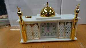 Retro Style Masjid/Mosque Shaped Full Azaan Alarm Clock Gift JD-13 Mix Colours