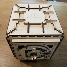 Ugears Safe Box Mechanical Wooden Model KIT - 3D puzzle, Self Assembling V3