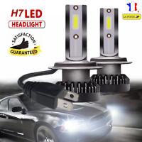 2x 55W H7 6000K LED COB Voiture Phare Lampe Feu Headlight Conversion Ampoule DRL