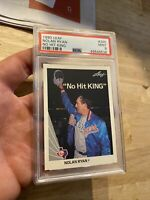 Nolan Ryan PSA 9 MINTY MINT LEAF #265 Rangers Card INVESTMENT Major League Ball