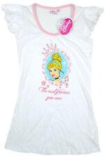 Pyjamas chemises de nuit blanche pour fille de 2 à 16 ans