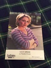LUCY SPEED (EASTENDERS) UNSIGNED CAST CARD