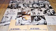 30 MINUTES DE SURSIS ! sidney poitier a bancroft  jeu 16 photos cinema 1965