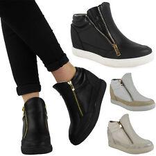 Zip Mid Heel (1.5-3 in.) Wedge Synthetic Shoes for Women