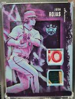 2020 Panini Diamond Kings Josh Rojas Purple Relic 1/5 Game Used Jersey Patch
