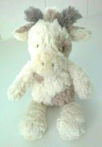 Mary Meyer Putty Nursery Giraffe Plush Baby Soft Toy Etched Cream Brown 29cm